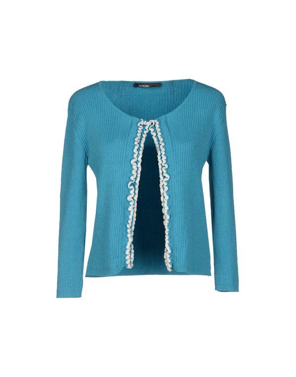 蓝绿色 PIANURASTUDIO 针织开衫