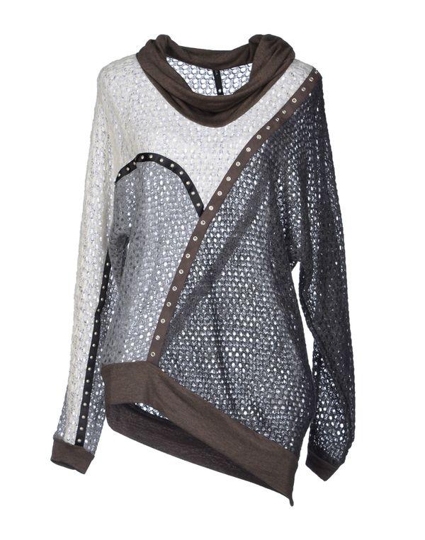 灰色 PIANURASTUDIO 套衫