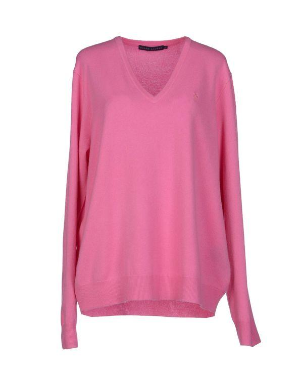 浅紫色 RALPH LAUREN 套衫