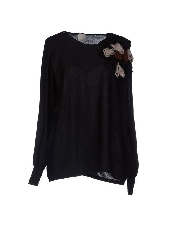 黑色 ...À_LA_FOIS... 套衫