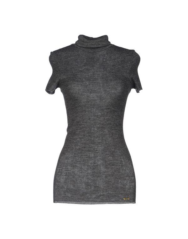 灰色 LIU •JO 圆领针织衫
