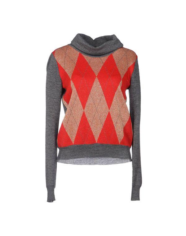 红色 ANNARITA N. 圆领针织衫