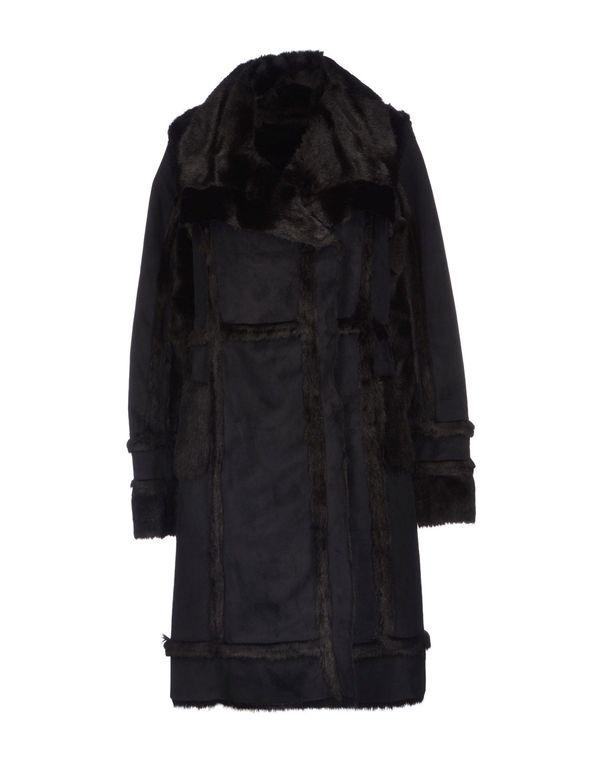 黑色 PIANURASTUDIO 大衣