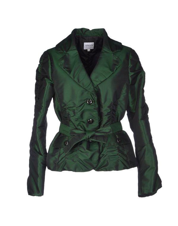 绿色 ARMANI COLLEZIONI 夹克