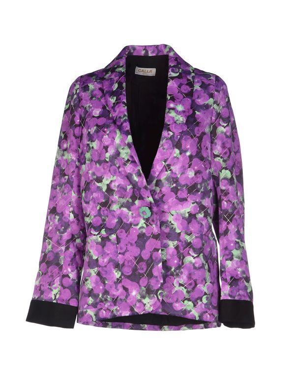浅紫色 CALLA 西装上衣