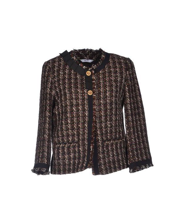 深紫 LIU •JO JEANS 西装上衣