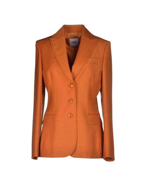 橙色 MOSCHINO CHEAPANDCHIC 西装上衣