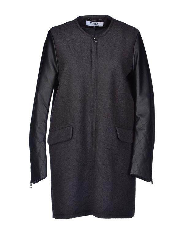 青灰色 ONLY 大衣