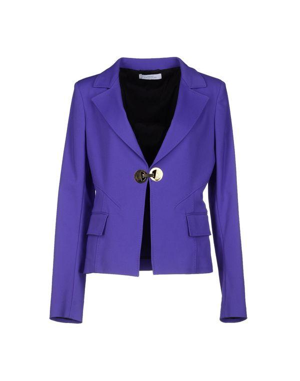 紫色 VERSACE COLLECTION 西装上衣