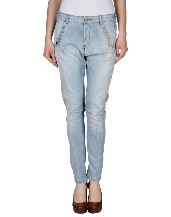 蓝色 MANILA GRACE 牛仔裤
