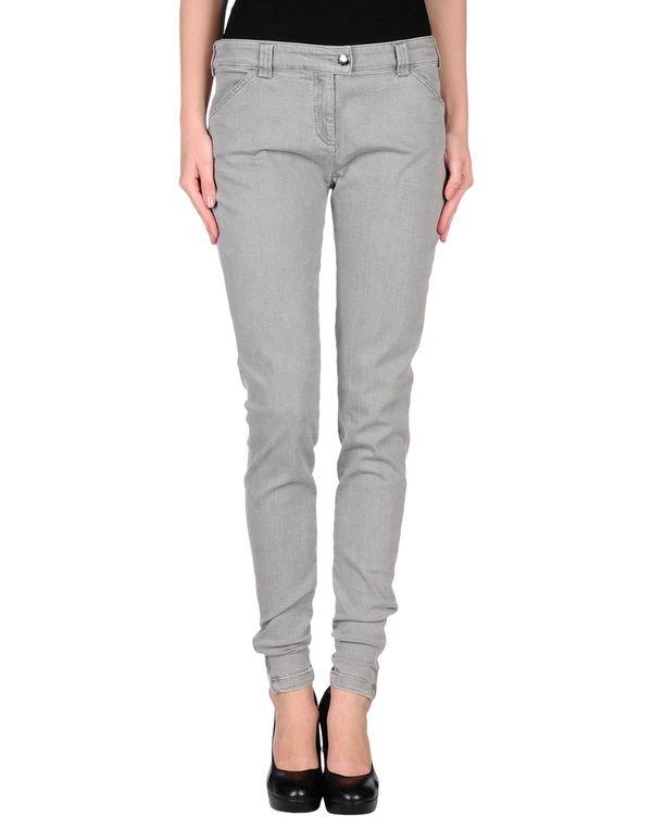 淡灰色 BALENCIAGA 牛仔裤
