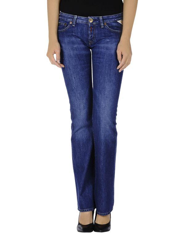 蓝色 REPLAY 牛仔裤