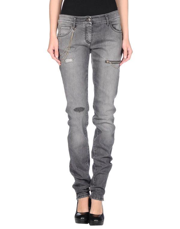 灰色 FRANKIE MORELLO 牛仔裤