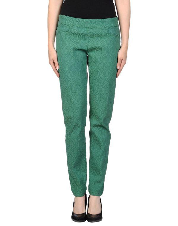 绿色 PIANURASTUDIO 裤装