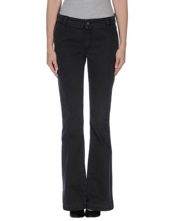 黑色 MANILA GRACE 牛仔裤