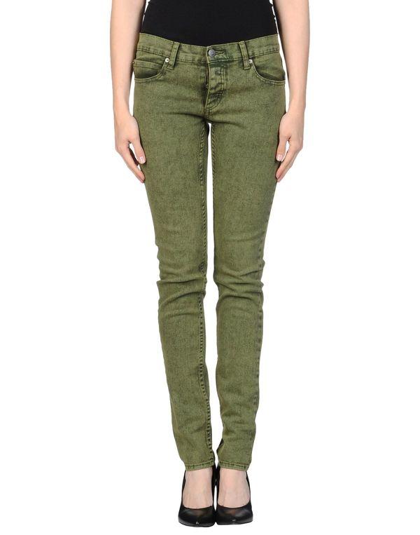 军绿色 CHEAP MONDAY 牛仔裤