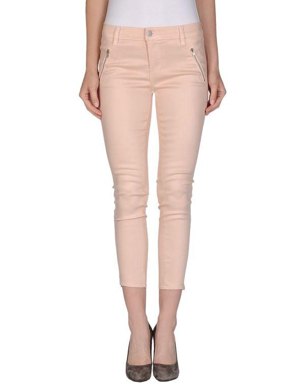 浅粉色 J BRAND 牛仔裤