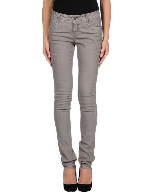 灰色 ONLY 牛仔裤