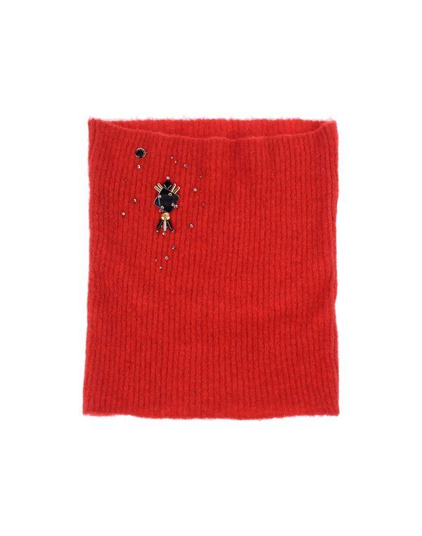 红色 CLASS ROBERTO CAVALLI 领部装饰