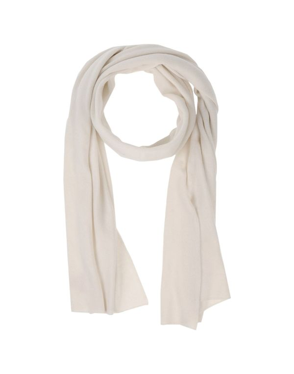 白色 CRUCIANI 围巾