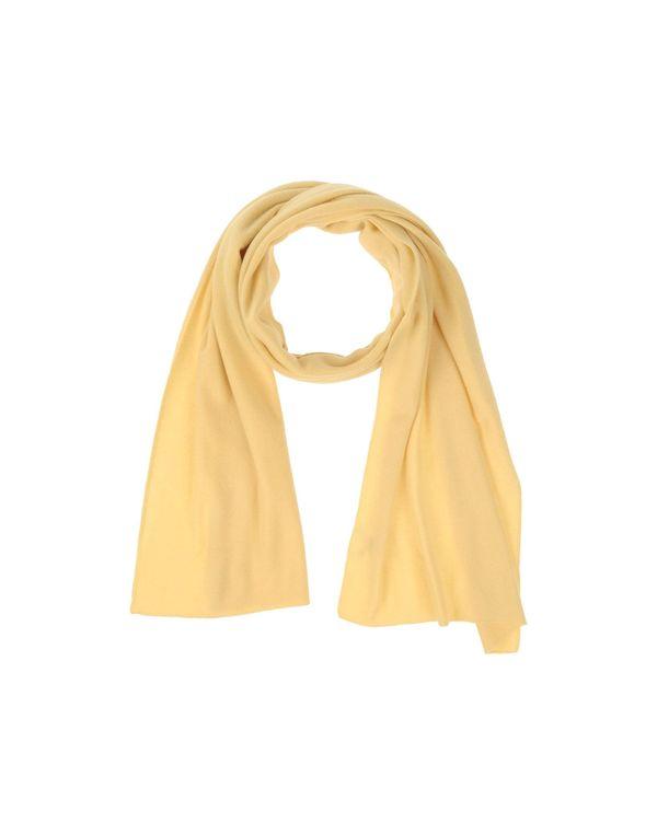 黄色 CRUCIANI 围巾