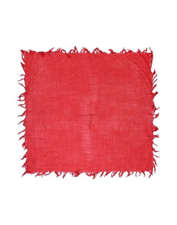 红色 MAURO GRIFONI 方巾