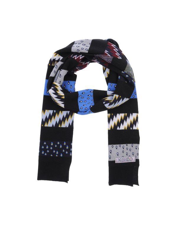 黑色 KENZO 围巾