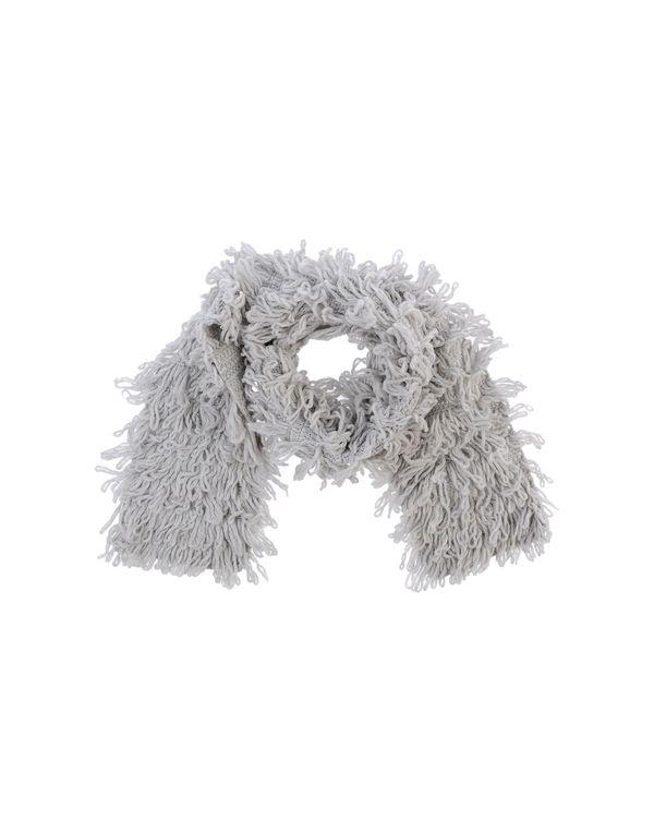 淡灰色 MAURO GRIFONI 围巾
