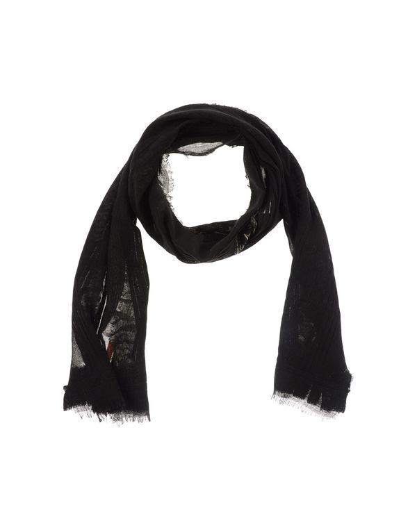 黑色 JOHN GALLIANO 围巾