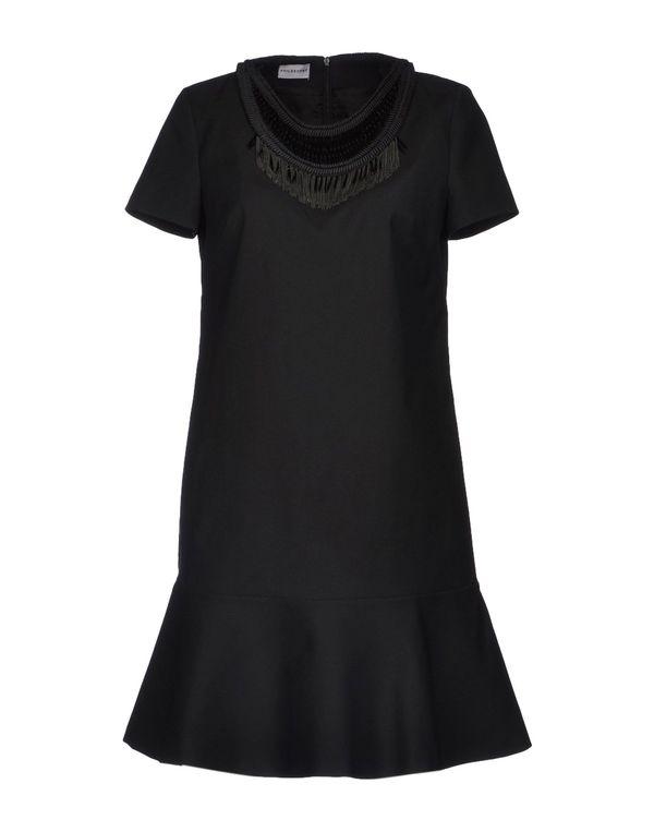 黑色 PHILOSOPHY DI A. F. 短款连衣裙