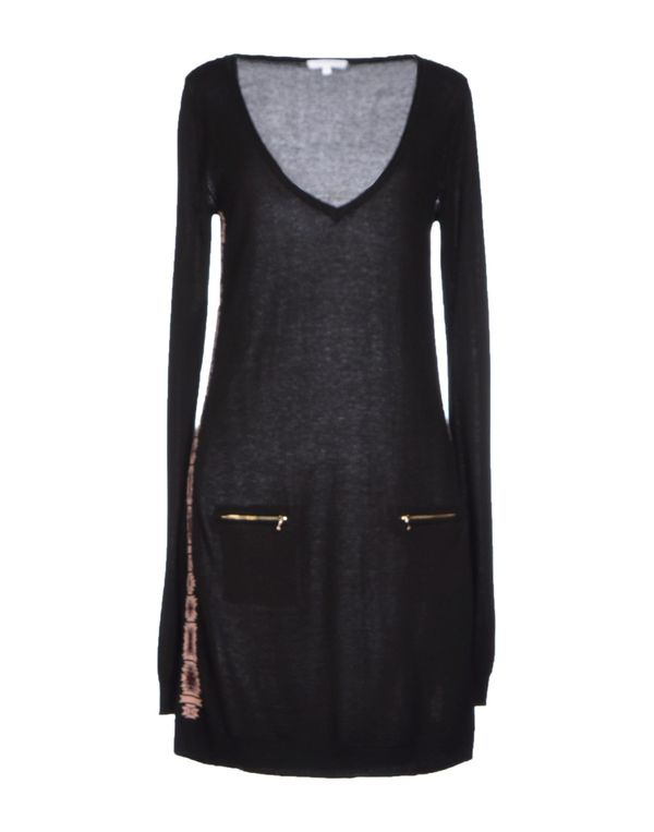 黑色 PATRIZIA PEPE 短款连衣裙