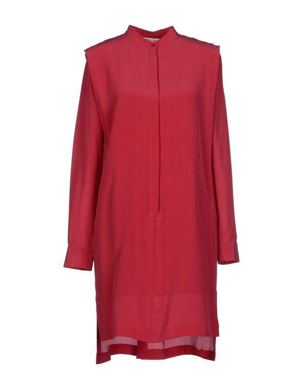 石榴红 SEE BY CHLOÉ 短款连衣裙