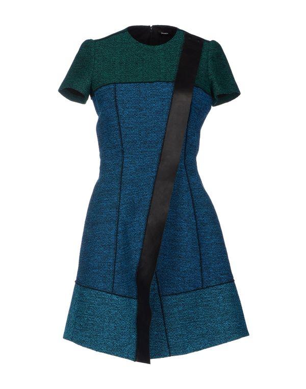 蓝绿色 PROENZA SCHOULER 短款连衣裙