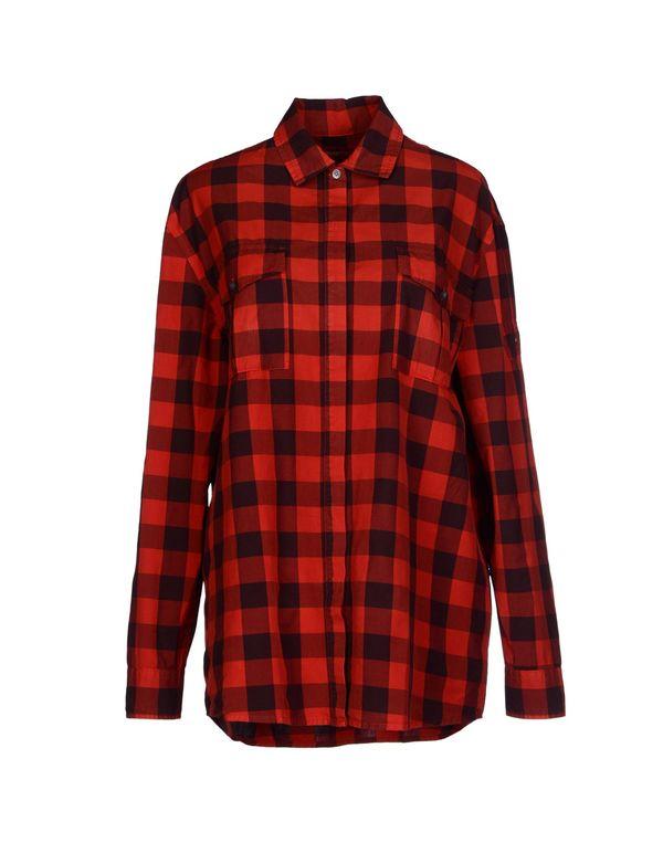 红色 PIERRE BALMAIN Shirt