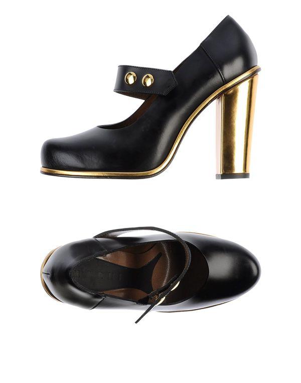 黑色 MARNI 高跟鞋