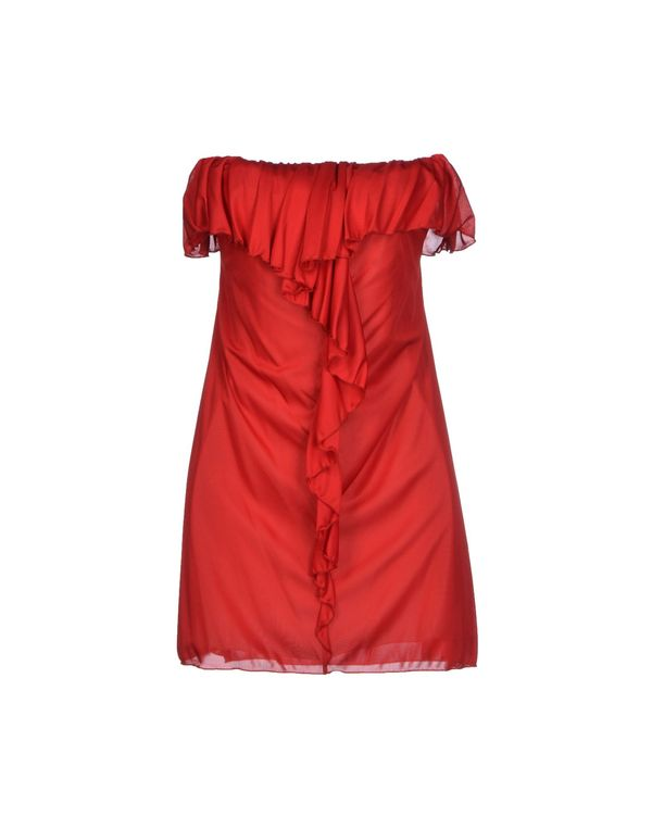 红色 PATRIZIA PEPE SERA 短款连衣裙