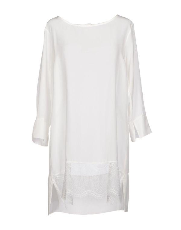 白色 KAOS 短款连衣裙