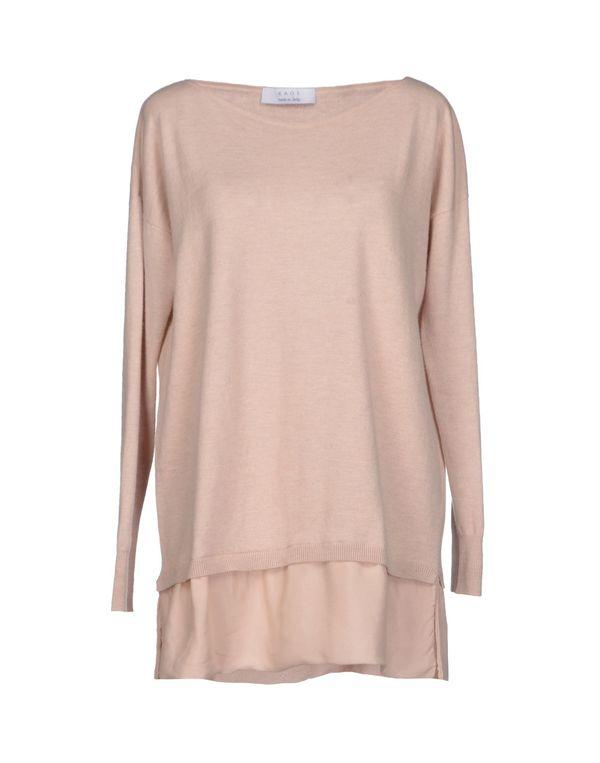 浅粉色 KAOS 套衫