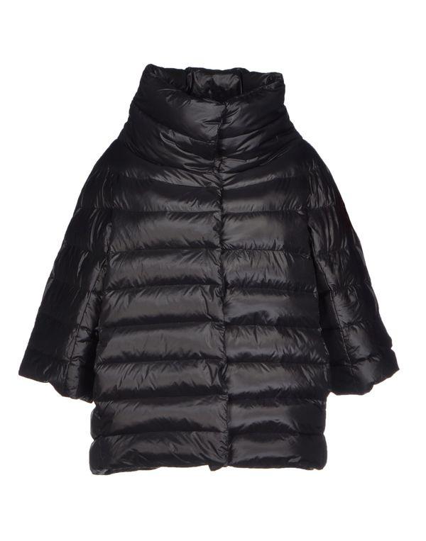 黑色 KAOS 羽绒服