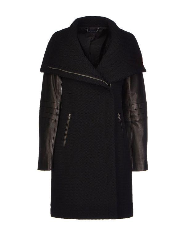 黑色 DIANE VON FURSTENBERG 大衣