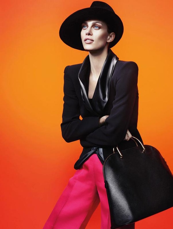 Giorgio Armani 2012秋季广告大片:时尚新篇章