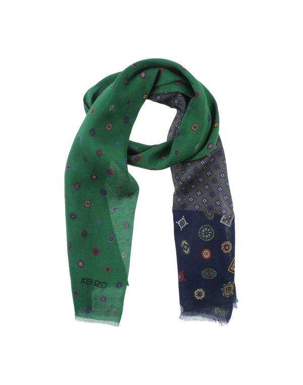 绿色 KENZO 围巾