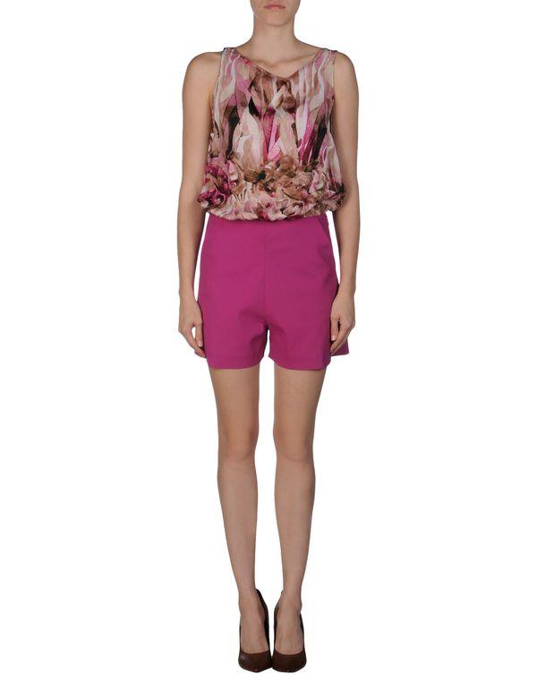 紫色 PATRIZIA PEPE SERA 连身短裤