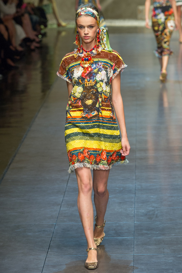 Dolce & Gabbana2013春夏时装秀