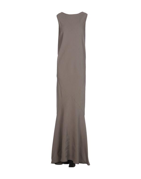 灰色 ROCHAS 长款连衣裙