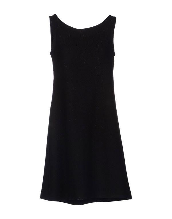 黑色 LAVINIATURRA 短款连衣裙