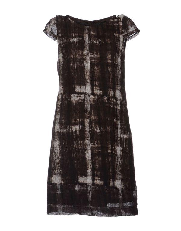 深棕色 LAVINIATURRA 短款连衣裙
