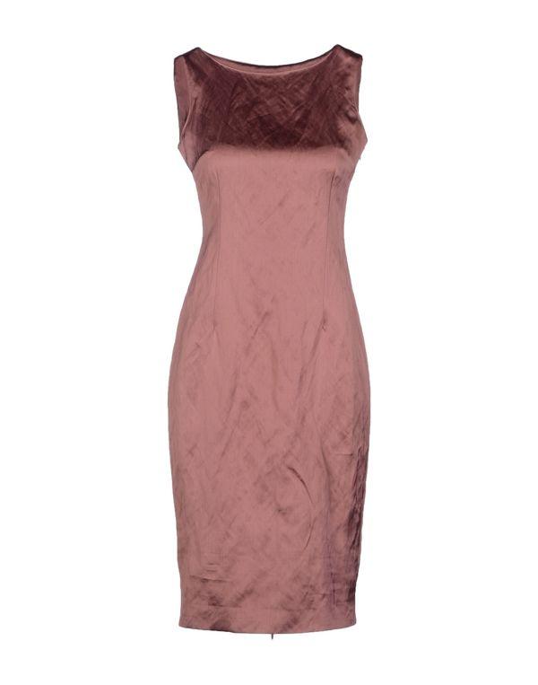 水粉红 LAVINIATURRA 及膝连衣裙