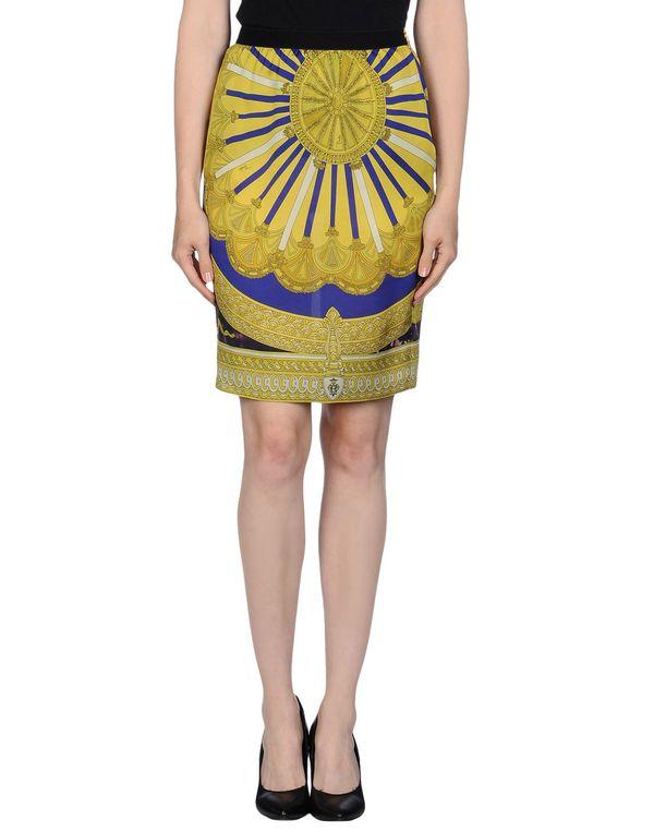 黄色 EMILIO PUCCI 及膝半裙