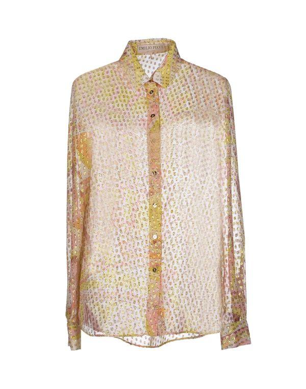 黄色 EMILIO PUCCI Shirt
